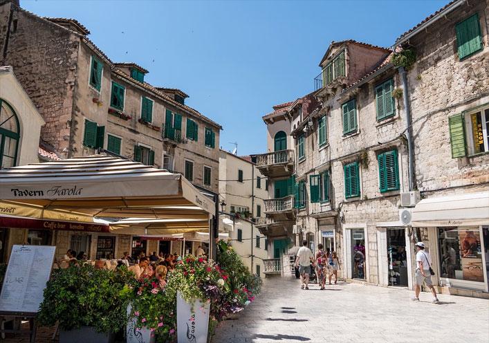 Altstadt Split, Dalmatien