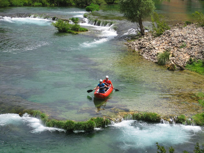 Kajaktouren in Dalmatien