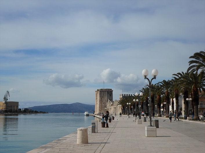 Wasserpromenade von Trogir