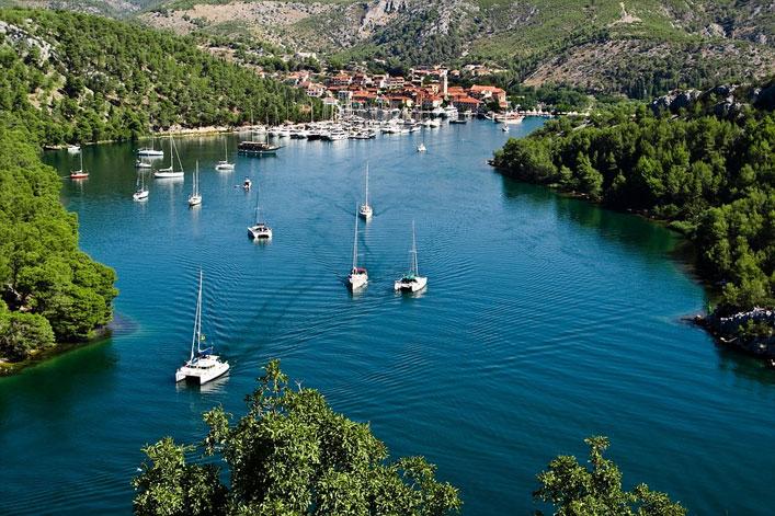 Segeln und Boot fahren in Dalmatien